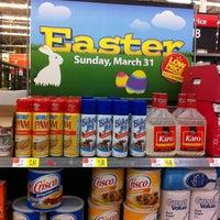 Photo taken at Walmart Supercenter by Par-T P. on 2/23/2013