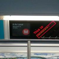 Photo taken at MTA Subway - Middle Village/Metropolitan Ave (M) by Bill T. on 7/19/2016