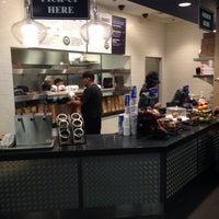 Photo taken at Delux Burger Express by Abdullah B. on 5/23/2014