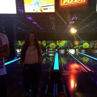 Photo taken at New Roc n Bowl at Funfuzion New Roc City by Lilith W. on 6/22/2016