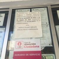 Photo taken at Modulo De Licencias Y Control Vehicular by Liliana U. on 12/26/2016