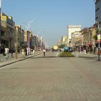 Photo taken at Naderi Crossroad by Payam A. on 3/17/2014
