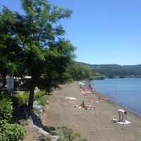 Photo taken at Spiaggia Libera Lago di Bolsena by Salvatore R. on 7/3/2014