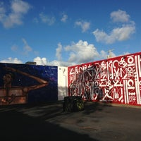 Photo taken at The Wynwood Walls by Marialejandra U. on 1/6/2013