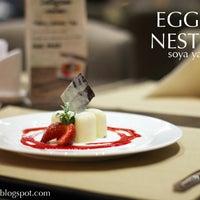 Photo taken at Egg Nest by Soya Y. on 2/17/2014