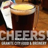 2/25/2013にPaul M.がGranite City Food & Breweryで撮った写真