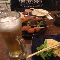 Photo taken at お好み焼き 笛 by おしんこ on 3/15/2015
