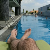 Photo taken at Pullman Swimming Pool Saigon by Maurizio M. on 2/27/2016