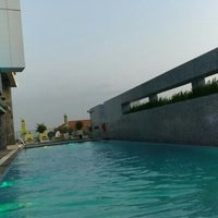Photo taken at Pullman Swimming Pool Saigon by Maurizio M. on 2/25/2016