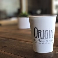 Photo taken at Origin Coffee & Tea by Mike P. on 7/25/2017