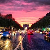 Photo taken at Avenue des Champs-Élysées by Inna S. on 4/29/2013