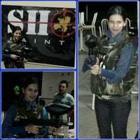 Photo taken at Shoot paintball by Livya C. on 2/18/2014