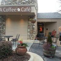 Photo taken at Sola Coffee Café by Martin B. on 1/26/2013