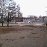 Photo taken at Стадион «Спартак» by Maria F. on 4/13/2015