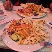 Photo taken at Pina Cafe by Murat 🔰 on 3/13/2014