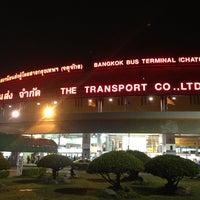 Photo taken at Bangkok Bus Terminal (Chatuchak) by Ohm Ohm O. on 7/16/2013