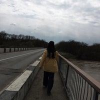 Photo taken at Река Кубань (г.Кропоткин) by Rita A. on 4/12/2015