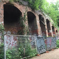 Photo taken at Parkland Walk (Crouch End to Highgate section) by Rita A. on 7/2/2017