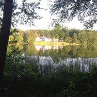 Photo taken at Jagdschloss Grunewald by Daniela R. on 5/19/2013