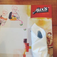 Photo taken at Max's Restaurant by Shemaiah B. on 5/31/2014