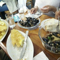 Photo taken at Oban Bay Fish & Chip Shop by Matt N. on 7/18/2015