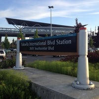 Photo taken at Tukwila International Blvd Station by Brett C. on 6/16/2013