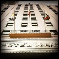 Photo taken at Hotel De Anza by OldLadyMan T. on 11/8/2012