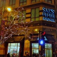Photo taken at Saks Fifth Avenue by OldLadyMan T. on 11/25/2012