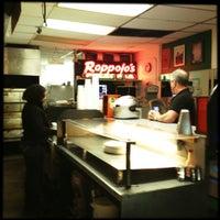 Photo taken at Roppolo's Pizzeria by OldLadyMan T. on 10/31/2012