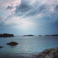 Снимок сделан в Aurinkolahden uimaranta пользователем Ville T. 6/26/2013