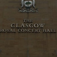 Photo taken at Glasgow Royal Concert Hall by Aysil K. on 7/26/2014