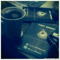 "Photo taken at D""Jo.Co Coffee Cafe by Oggi Joe B. on 1/7/2013"
