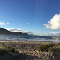 Photo taken at Keel Beach by Anita B. on 10/1/2016