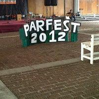 Photo taken at Universitas Katolik Parahyangan (UNPAR) by Inun R. on 9/25/2012
