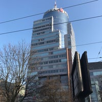 Photo taken at Plac Rodła by Paulusia on 1/27/2017