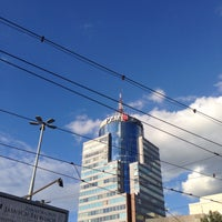Photo taken at Plac Rodła by Paulusia on 8/10/2016