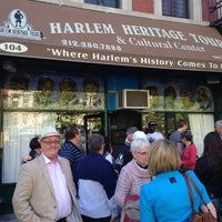 Photo taken at Harlem Heritage Tours (Harlem Heritage and Cultural Center) by Terry B. on 6/1/2014