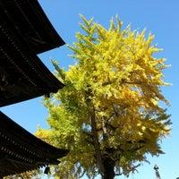 Photo taken at 獨股山 前山寺 by aoaoshi on 11/4/2012