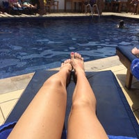 Photo taken at Pool Citymax Bur Dubai Hotel by Ольга Ж. on 3/21/2014