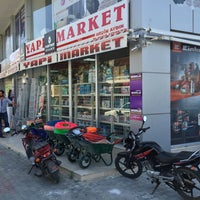 Photo taken at Aydın Yapı Market by Mehmet C. on 6/21/2016