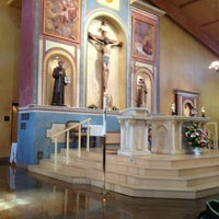 Photo taken at St. Francis Of Assisi Church by Robert K. on 1/27/2013