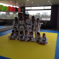 Photo taken at Centro Profesional de Tae Kwon Do Lomas de Sotelo by Rodolfo P. on 8/16/2014