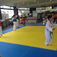 Photo taken at Centro Profesional de Tae Kwon Do Lomas de Sotelo by Rodolfo P. on 8/15/2014