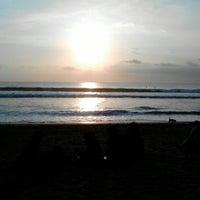 Photo taken at Legian Beach by blank_ 0. on 10/12/2012