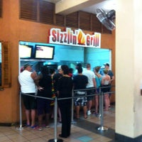 Photo taken at Sizzlin'Grill by George M. on 4/11/2014