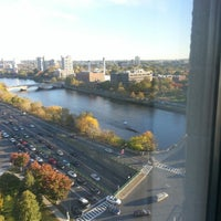 Photo taken at DoubleTree Suites by Hilton Hotel Boston - Cambridge by Jason S. on 10/17/2012