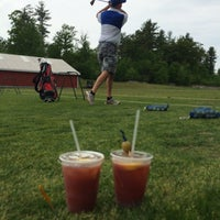 Photo taken at Breakfast Hill Golf Club by Kimberly B. on 5/25/2015