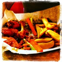 Photo taken at Sparky's Wings and Things by Giuseppe D. on 10/4/2012