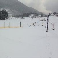 Photo taken at おじろスキー場 ゴンドラステーション by Yuka M. on 2/21/2014