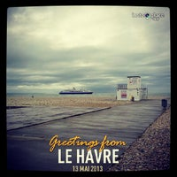 Photo taken at Plage du Havre by LeHavreTourisme on 5/13/2013